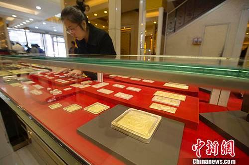 一季度中国黄金产销量同比双降