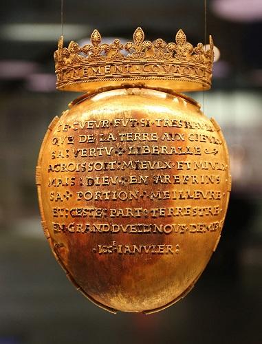 法国一16世纪金匣子被盗 曾因装有法国王后心脏而闻名