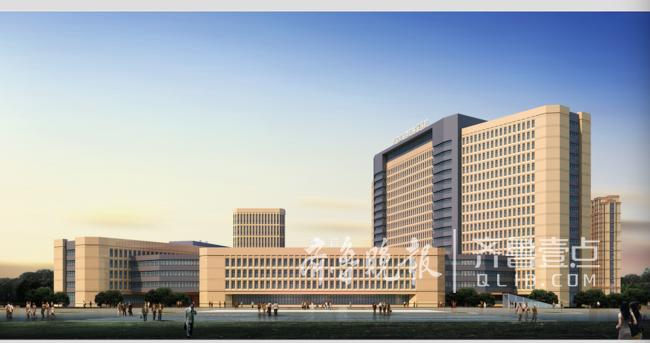 全国首家军民融合医院落户青岛西海岸 明年启用(图)
