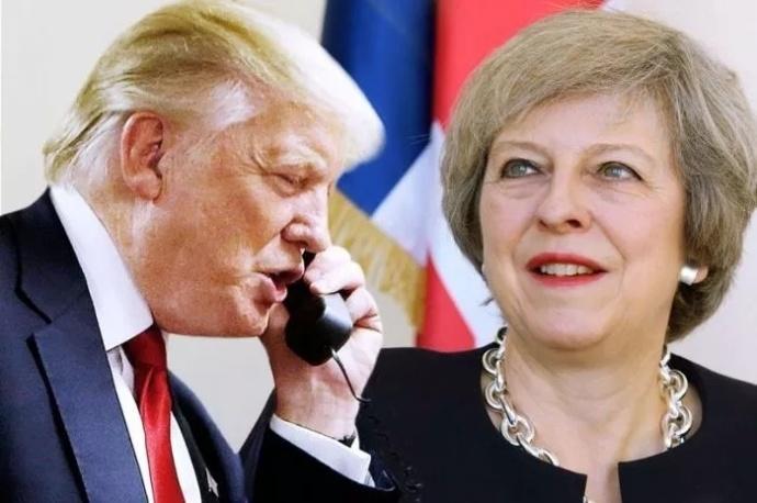 特朗普一声令下,英国乖乖听话?梅姨:我不是 我没有