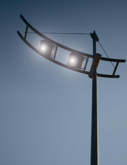 淄川实行路灯亮化工程 4651盏预计6月底全部完工