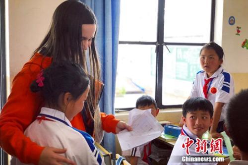 最美邂逅:洋外教线上支教终见乡村学生