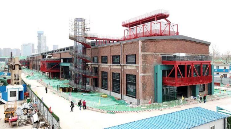 """济南CBD核心将现798!!二钢迎新生变""""钢厂公园""""!"""