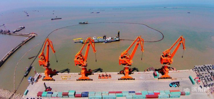 """滨州港将打造成滨州新旧动能转换""""特色牌"""""""