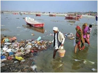 印媒:每天有逾13亿公升污水流入恒河干流