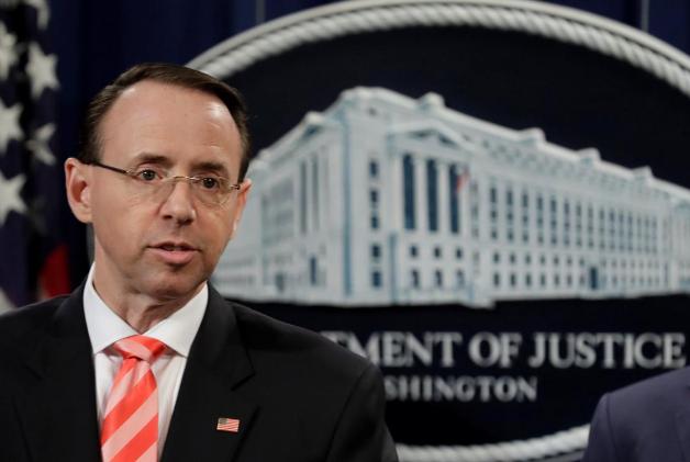 美司法部和特朗普玩文字游戏?称其并非调查目标