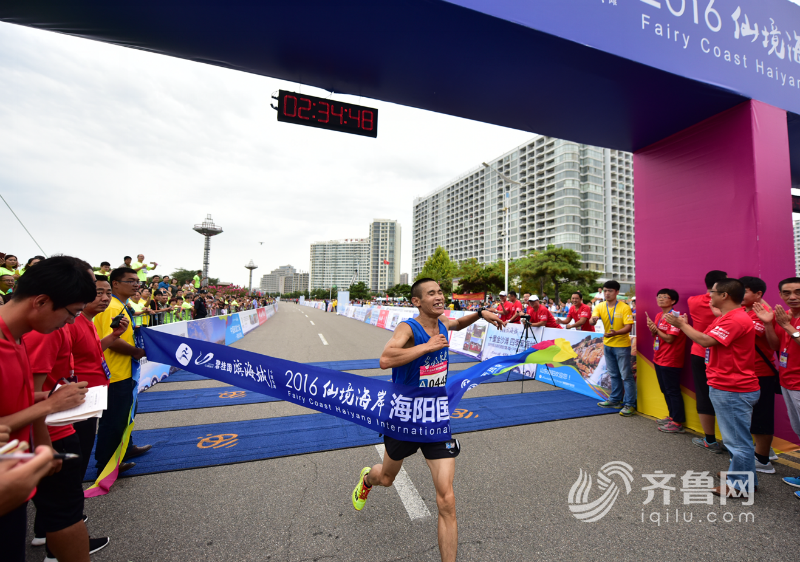 2018仙境海岸·海阳国际马拉松7月1日开跑 历年精彩片段回顾
