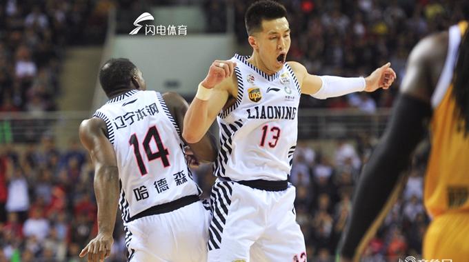 CBA总决赛G3:辽宁本钢104-100力克广厦拿到赛点