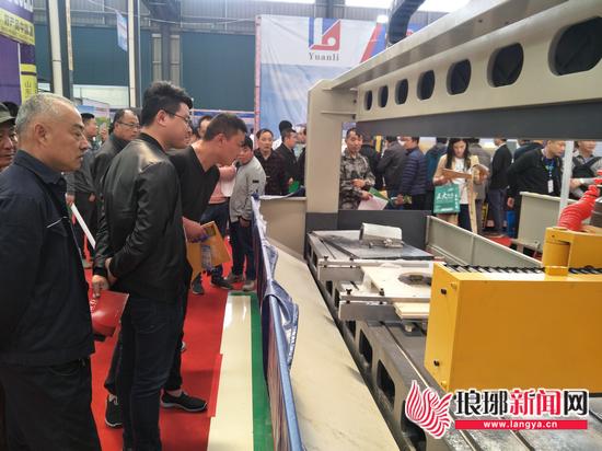 中国国际石材博览会临沂举行 石材产业园同时开建
