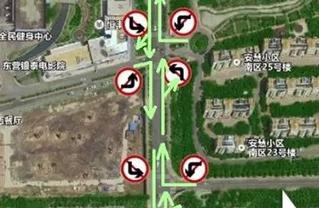 胶州路银座东出口路段交通治堵方案定了!将限时禁左转