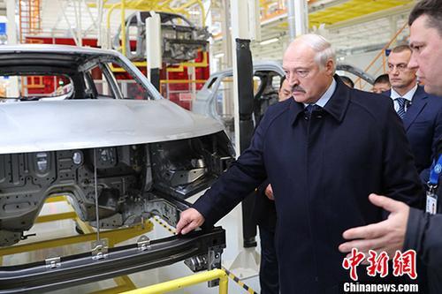 """白俄罗斯总统:""""一带一路""""倡议是新型国家间相互协作模式"""