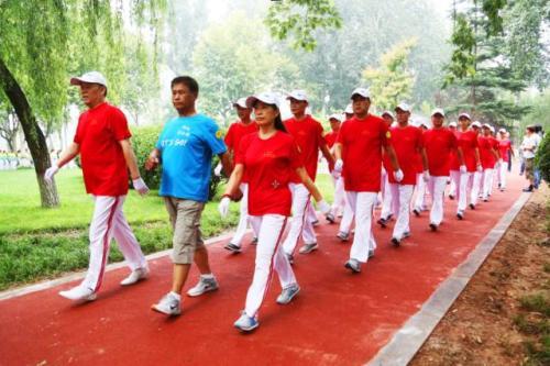聊城:2018全民健身月暨第八届健身运动会启动