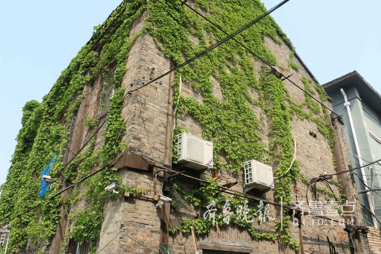 大明湖边藏着老厂房,有栋1937年老建筑