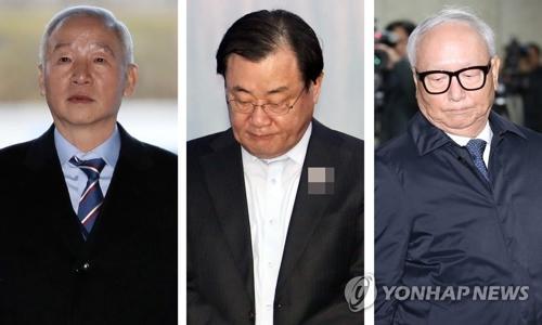 """韩情报机构""""上供案"""":3名前高官被求刑5至7年"""