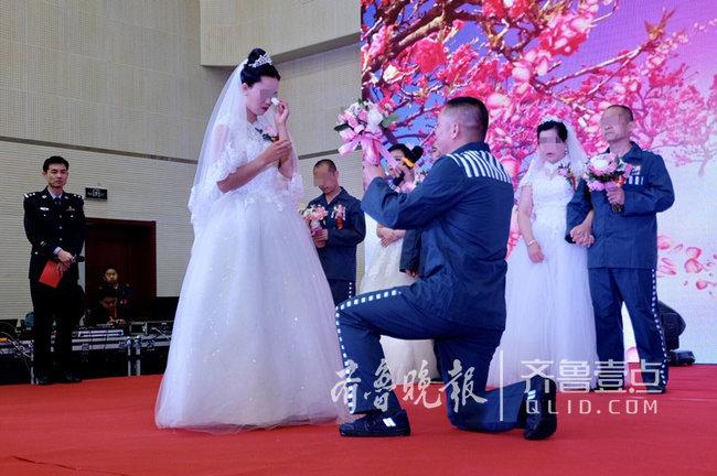 迟到十五年的求婚!鲁北监狱里奏响《婚礼进行曲》