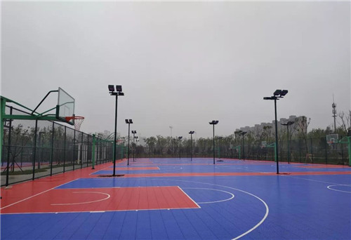 五一假期再添好去处!淄川体育公园五一开园