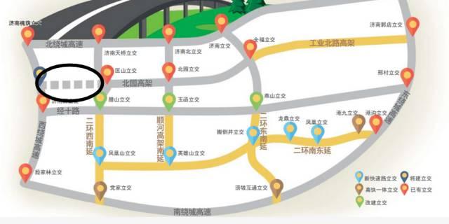 济南首条纵贯东西城快速路来了!明年元旦北园高架直达西客站!