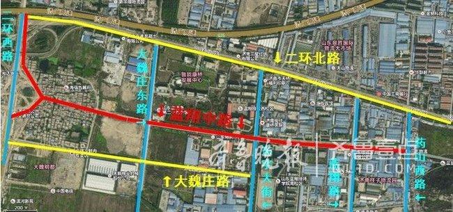蓝翔中路(二环西路-药山西路)将改造,10月底通车
