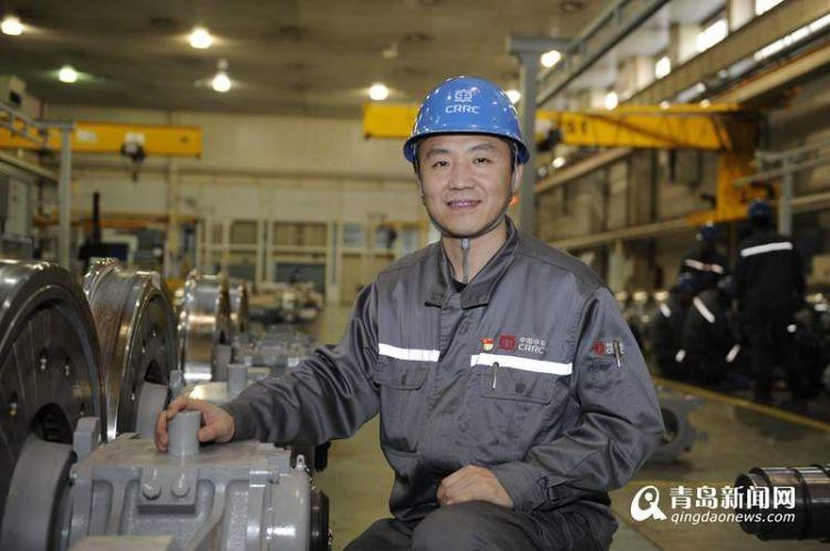 【青岛骄傲】郭锐: 为中国梦提速是高铁工人的追求