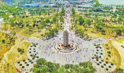 """园博园10个展园已对外招商 未来发展""""1+N""""旅游精品线"""