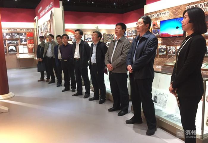石家庄市政协考察组:滨州是座来了就不想走的城市