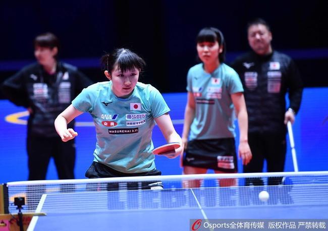 日本乒协:女队具备打倒中国队条件 冠军志在必得