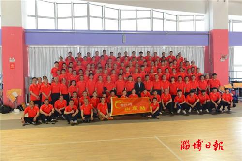 """2018""""淘你欢青年生活公园""""杯乒乓球团体赛在淄成功举行"""