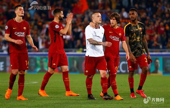 欧冠-罗马两度落后4-2逆转 利物浦7-6晋级战皇马
