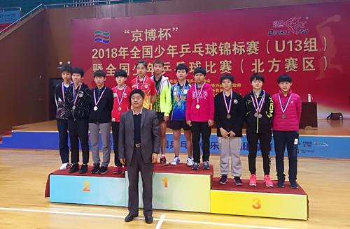 鲁能女队勇夺锦标赛北方赛区团体冠军、单打冠亚军