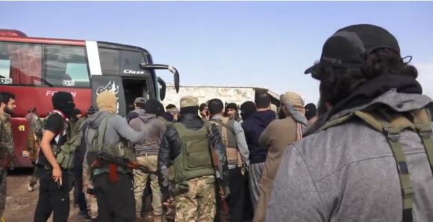 叙利亚第三大省反叛分子投降 将撤离至叙北部
