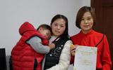 """80后""""熊猫血""""妈妈进行遗体、器官(角膜)捐献登记"""
