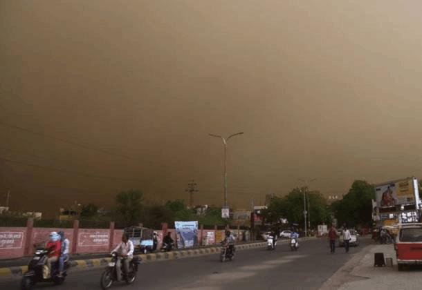 印度沙尘暴灾害亲历者讲述灾难发生时场面(图)