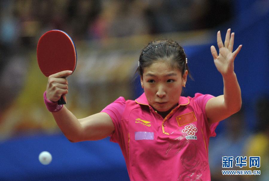 世乒赛刘诗雯连扳6分自我救赎 中国3-1日本四连冠