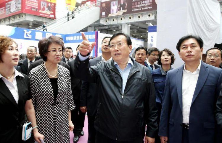 """王忠林:努力打造具有""""国际范""""的高端会展品牌"""