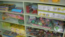 淄博市体育科技中心捐赠玩具慰问福利院儿童