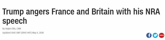 特朗普两个动作,让全法国和英国暴怒