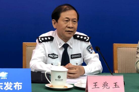 山东省公安厅党委副书记、常务副厅长 王兆玉