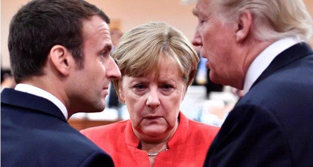 """英法德对特朗普""""退群""""表遗憾:核不扩散正受到威胁"""