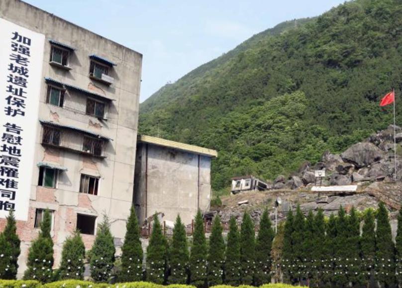 探访四川北川老县城地震遗址