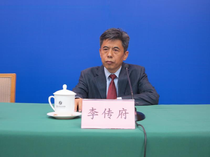 山东省农业厅总经济师 李传府