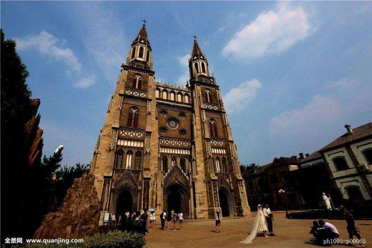 老建筑|济南最大的天主教堂,浸透着中国人的血汗