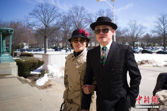 周立波纽约再次出庭 律师称案件有望于本月结束