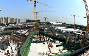 北京冬奥场馆国家速滑馆工程全面进入地下施工阶段