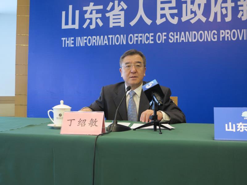 山东省人民政府新闻办公室事业处处长 丁绍敏