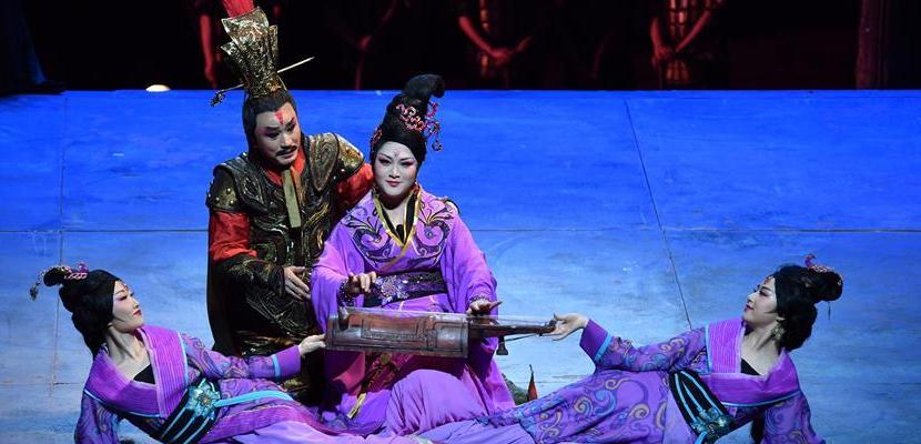 民族歌剧《楚庄王》在京上演 展示浓郁荆楚风情