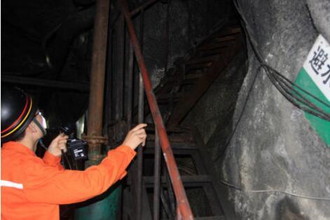 临沂安监部门检查铁矿 210米矿井下查出多项问题