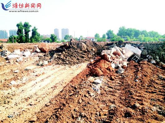 潍城区舜天燃料公司院内一片狼藉,警方正在调查