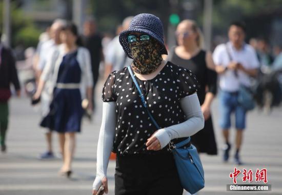 """京城开启""""盛夏""""模式 下周一最高气温将冲上34℃"""