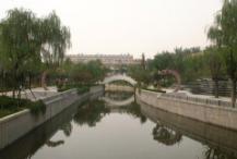 猪龙河张店段开建5座拦水坝 预计一个月完工