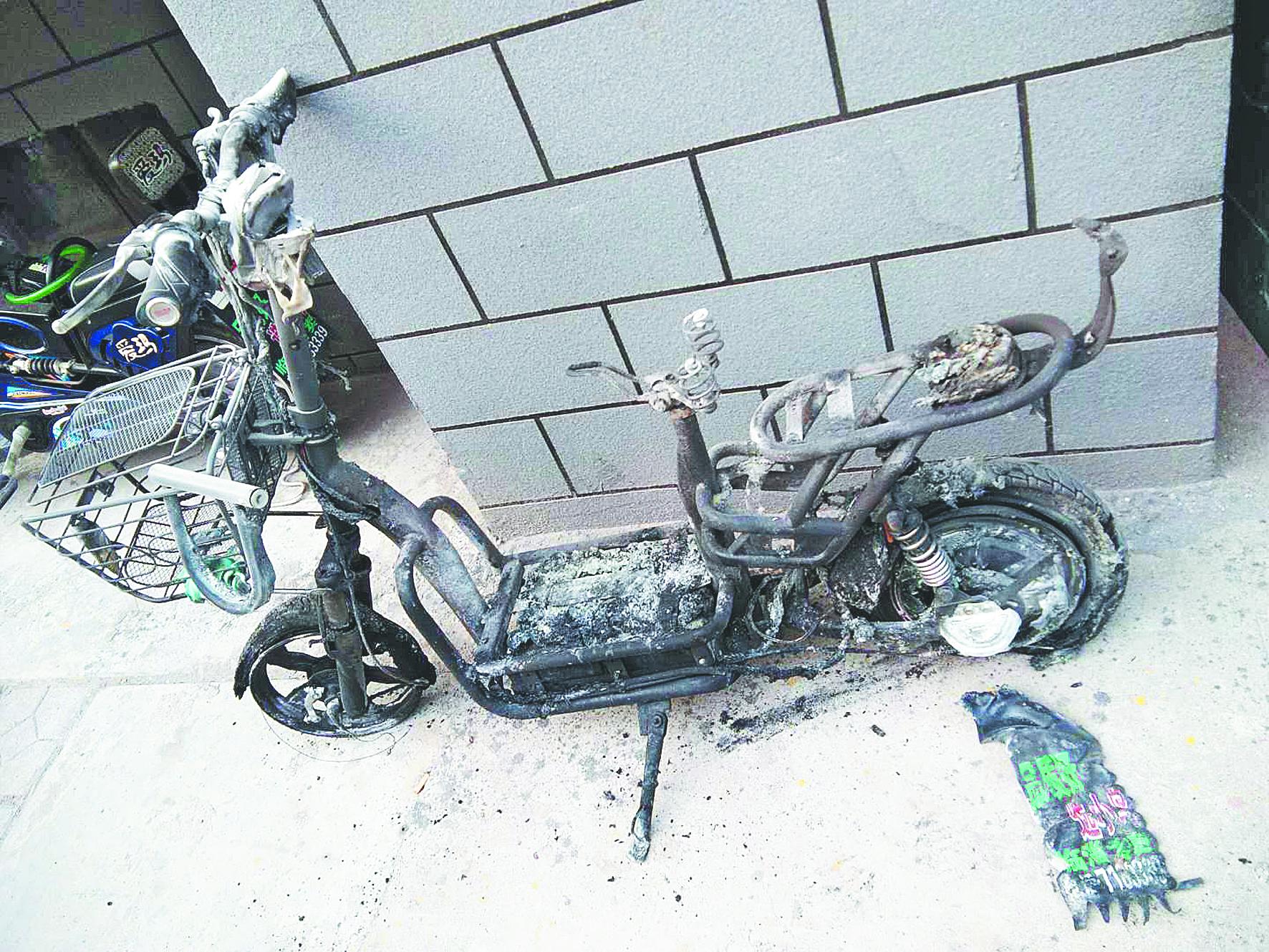 太可怕!深夜电动车突然爆炸起火 事发淄博一小区!